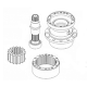 Swing Reduction Gear Assy (Carrier, Plates, Gears, Pinions, Shaft, Bushes)